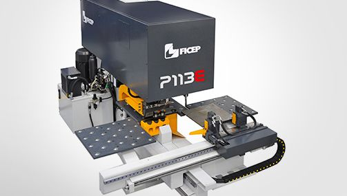 P Series | Machine for Punching and Drilling Metal Plates